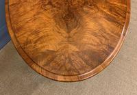 Victorian Burr Walnut Stretcher Table (8 of 13)