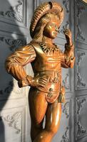 Italian Carved Hardwood Figure of a Boy (4 of 23)