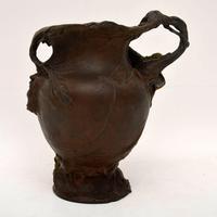 French Antique Art Nouveau Bronze Urn (3 of 10)