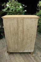 Lovely Old Stripped Pine Food Cupboard / Linen / Larder / Storage  - We Deliver! (9 of 9)