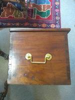 19th Century Mahogany Deed Box (5 of 6)