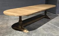 Huge Farmhouse Refectory Farmhouse Dining Table (15 of 24)