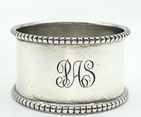 Antique Solid Silver Napkin Ring Joseph Rogers & Sons c.1906