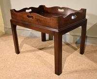 Mid 18th Century Mahogany Tray on Stand (2 of 8)