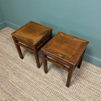 Stunning Pair of Antique Chinese Side Tables (3 of 4)