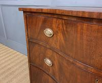 Georgian Flame Mahogany Serpentine Chest of Drawers (10 of 15)