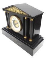 Amazing French Slate 8 Day Striking Mantle Clock (8 of 12)