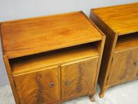 Pair of Mahogany Cabinets or Bedsides by Whytock & Reid (4 of 9)