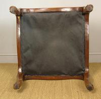 Good Large Victorian Upholstered Stool (6 of 6)