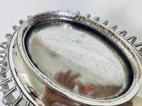 Antique Georgian 18th Century Solid Silver Swing Handle Bread Basket 1774 (16 of 19)
