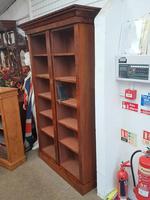 Victorian Walnut Open Bookcase (3 of 3)