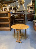 Victorian Oak Sutherland Table (8 of 10)