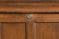 Early 18th Century Oak Kist the Interior with a Fitted Candle Box (5 of 5)