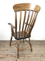 Victorian Ash & Elm Windsor Armchair (12 of 14)