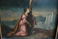 Christ & Mary Magdalene, Oil on Canvas (3 of 6)