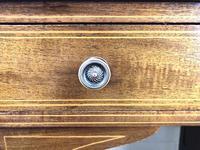 Antique Edwardian Inlaid Mahogany Desk (5 of 12)