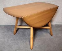Vintage Ercol Drop Leaf Dining Table Golden Dawn (2 of 10)