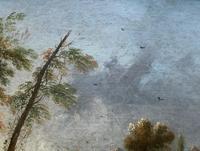 **Near Inverary** 18th Century Thomas Gainsborough Period Landscape Oil Painting (7 of 13)