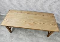 Large Farmhouse Pine Kitchen Table (8 of 9)