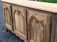 French Bleached Oak Dresser Base (5 of 12)