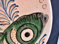 Large Spanish Art Pottery Fish Plate, Puigdemont Catalonia c.1950 (4 of 5)