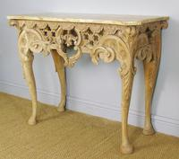Early 19th Century Italian Console Table Sienna Marble Top (2 of 9)