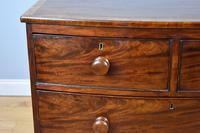 19th Century Regency Mahogany Bow Front Chest of Drawers (3 of 7)