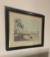 Framed Georgian aquatint after Samuel Howitt (3 of 6)