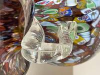 2 Beautiful Italian Murano Fratelli & Torso Millefiori Glass Vases (26 of 34)