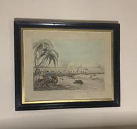 Framed Georgian aquatint after Samuel Howitt (6 of 6)