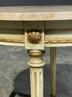 French Round Marble Top Coffee Table (5 of 15)