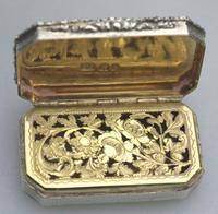 Good William IV Solid Silver Vinaigrette London 1832 (4 of 10)
