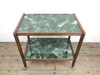 Two Tier Faux Marble Drinks Trolley (M-1584) (5 of 6)