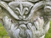 "Roman Style Stone Garden Bronze Floral Sundial ""Sunny Hour"" (30 of 30)"