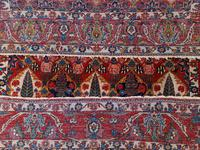 Antique Bakhtiari Rug with Sarv-o-kâdj Design (11 of 14)
