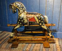 Vintage Rocking Horse. Baby Carriage Rambler (2 of 11)