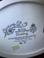 """Royal Worcester Ltd Edition Figurine """"Destiny"""" 74 of 1000 with Original Plinth & Boxed (10 of 11)"""