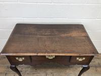 Antique Oak Lowboy Side Table (4 of 10)