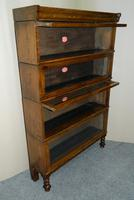oak Hillhead stacking bookcase / sectional bookcase (5 of 6)