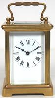 Antique French Classic 8-Day Carriage Clock Classic Case with Enamel Dial (5 of 5)