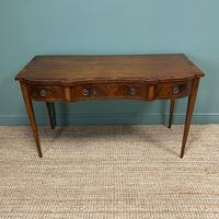 Victorian Mahogany Antique Console Table (8 of 9)