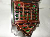 Georgian Mahogany Knife Box, Complete (4 of 8)