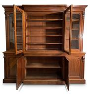 Mid-19th Century Breakfront Bookcase (2 of 7)