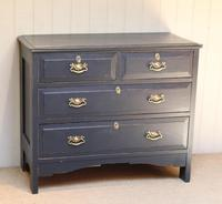 Pitch Pine Painted Chest of Drawers (11 of 11)