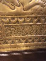 "Art Nouveau Brass Plaque "" Pandora"" (6 of 6)"