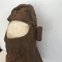 WWI British Fighter Pilots Cowl Helmet (2 of 16)