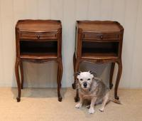 Pair of French Oak Bedside Cabinets (10 of 10)