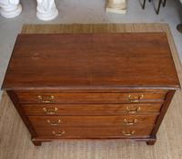Chest of Drawers Victorian Mahogany 19th Century Straightedge (3 of 9)