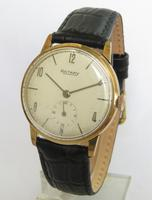 Gents 9ct gold Rotary wrist watch, 1967