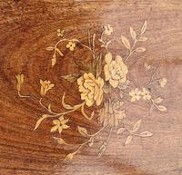Wonderful Victorian Marquetry Occasional Table (4 of 8)